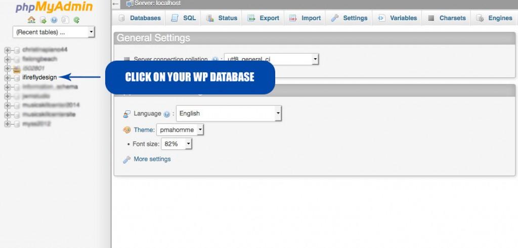select-correct-wp-database